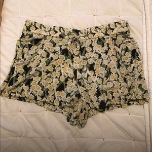 French Connection Floral Shorts Size 6